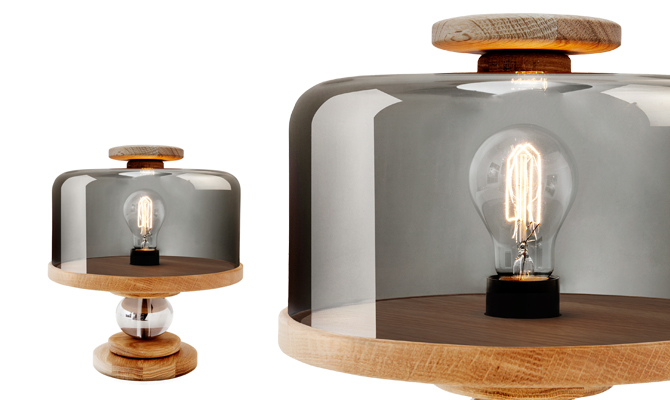 Bake Me A Cake Table Lamp By Morten U0026 Jonas For Northern Lighting