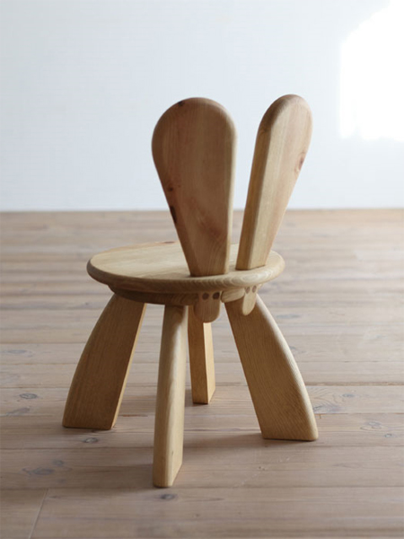 Easter Furniture: Bunny Chair by Hiromatsu