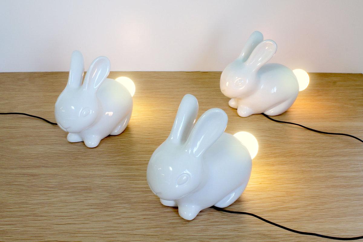 Porcelain Bunny Light by SUCK UK