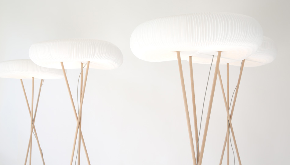 Cloud Floor + Table Softlights by Molo Design