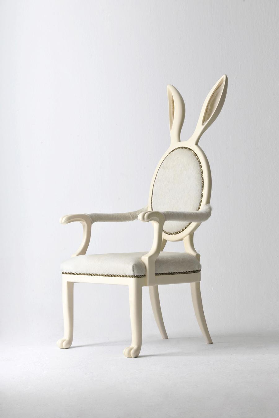Easter Furniture: HYBRID №2 Chair by Merve Kahramen