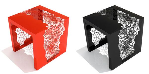 Hive Side Table by Chris Kabatsi from Arktura