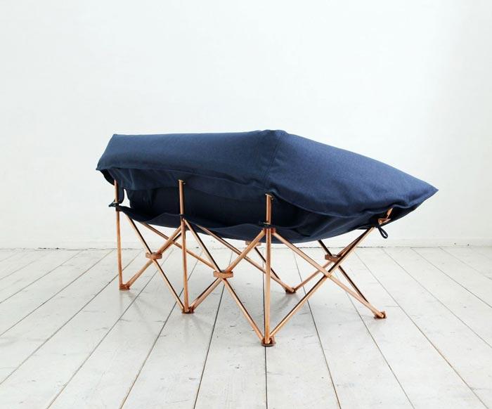 KAMP Foldable Sofa by KamKam Studio