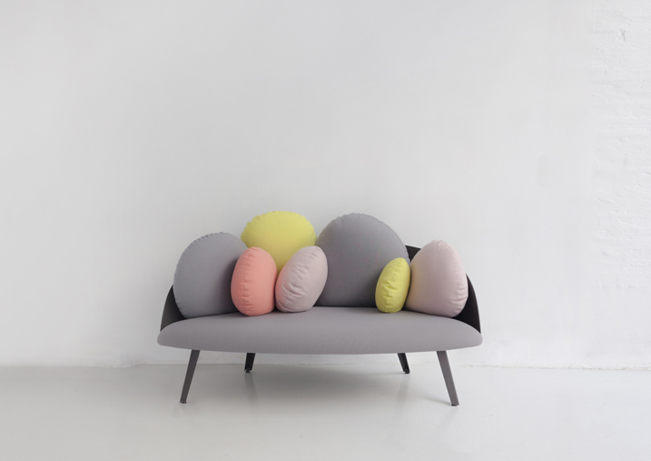 Nubilo Sofa by Costance Guisset for Petit Friture