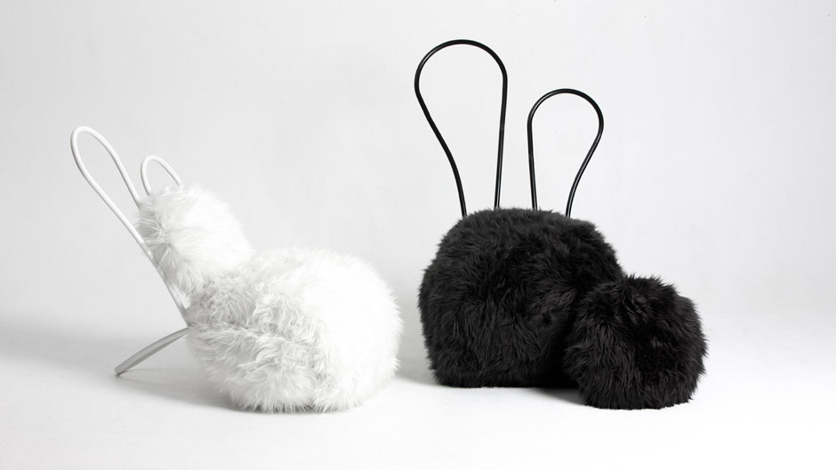Easter Furniture: The Rabbit Chair by Seungji Mun