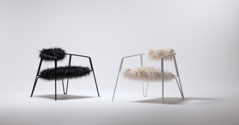 Rimula Lounge Chair by Guillaume Sonnet for Liparus