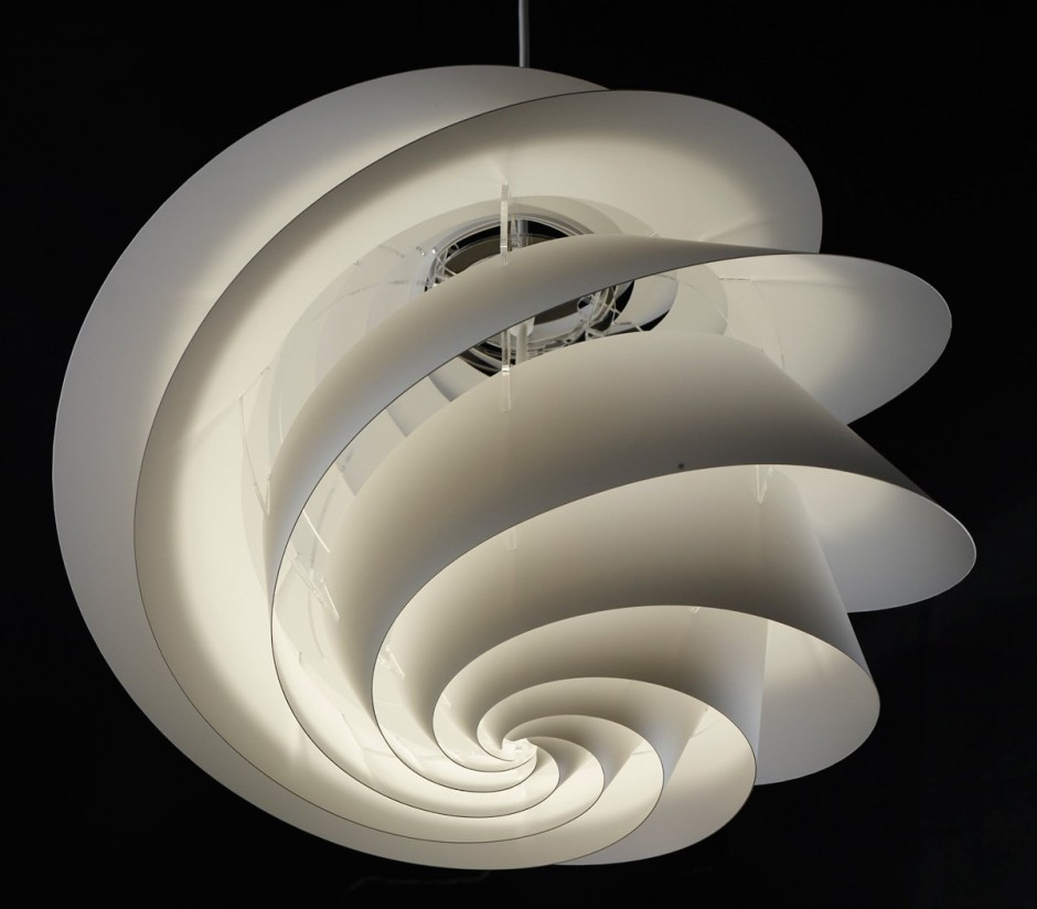 Swirl Lamp by Øivind Slaato for Le Klint