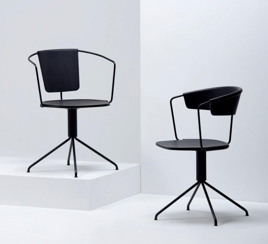 uncino chair by ronan erwan bouroullec for mattiazzi sohomod blog. Black Bedroom Furniture Sets. Home Design Ideas