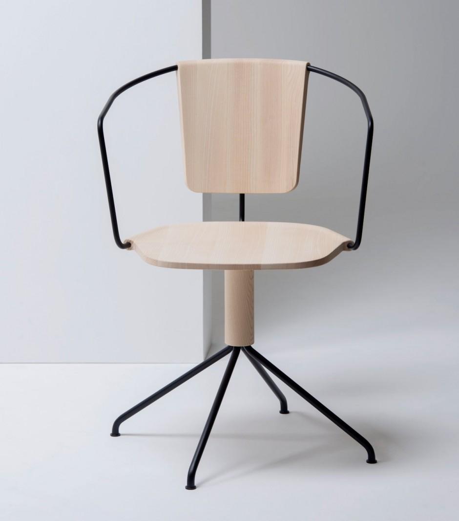 Uncino Chair by Ronan & Erwan Bouroullec for Mattiazzi
