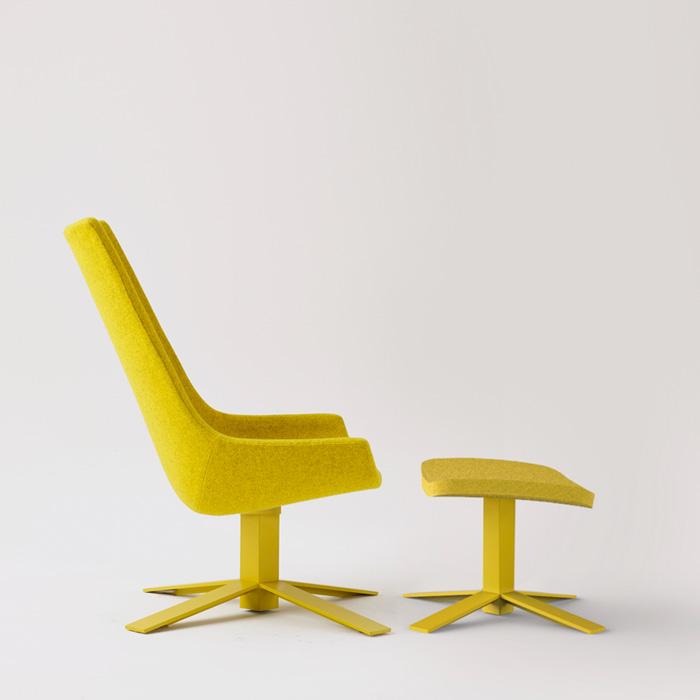 Windowseat Lounge Chair by Mike & Maaike for Haworth