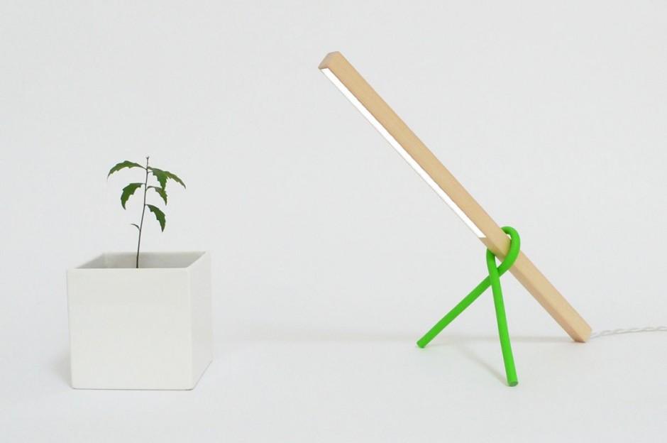 1×1 LED Desk Lamp by Victor Vetterlein