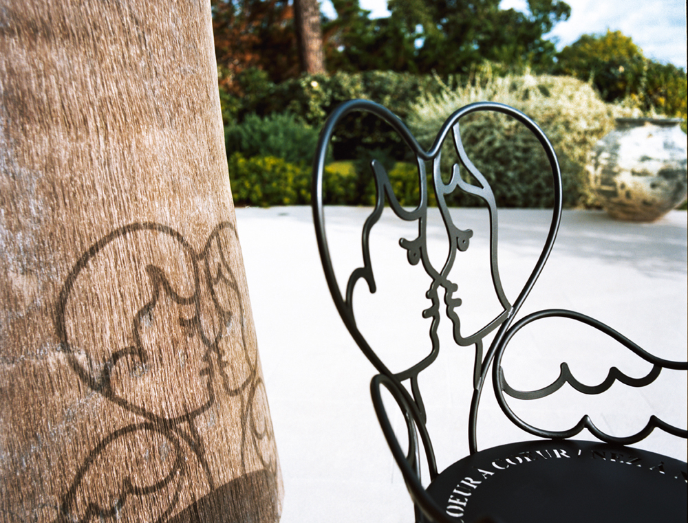 Ange Chair by Jean-Charles de Castelbajac for Fermob