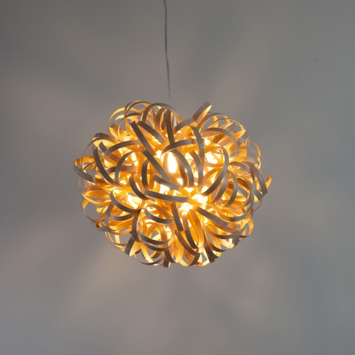 No. 1 Pendant by Tom Raffield