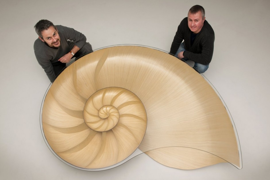 Nautilus II Coffee Table by Marc Fish