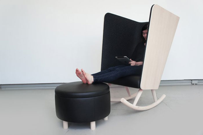 Private Rocker by Kyle Fleet & Herman Miller