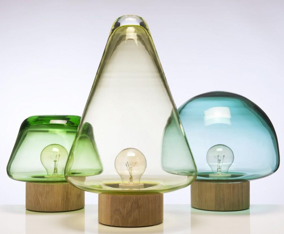 Skog Lamps by Caroline Olsson