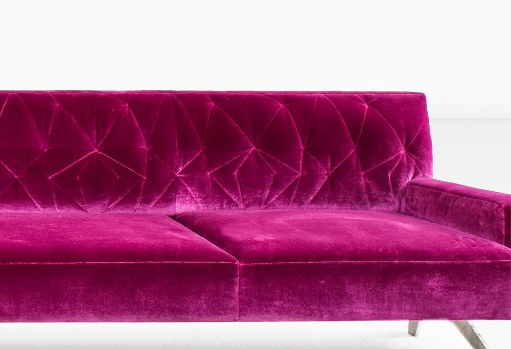 Mayweather Sofa by Khouri Guzman Bunce