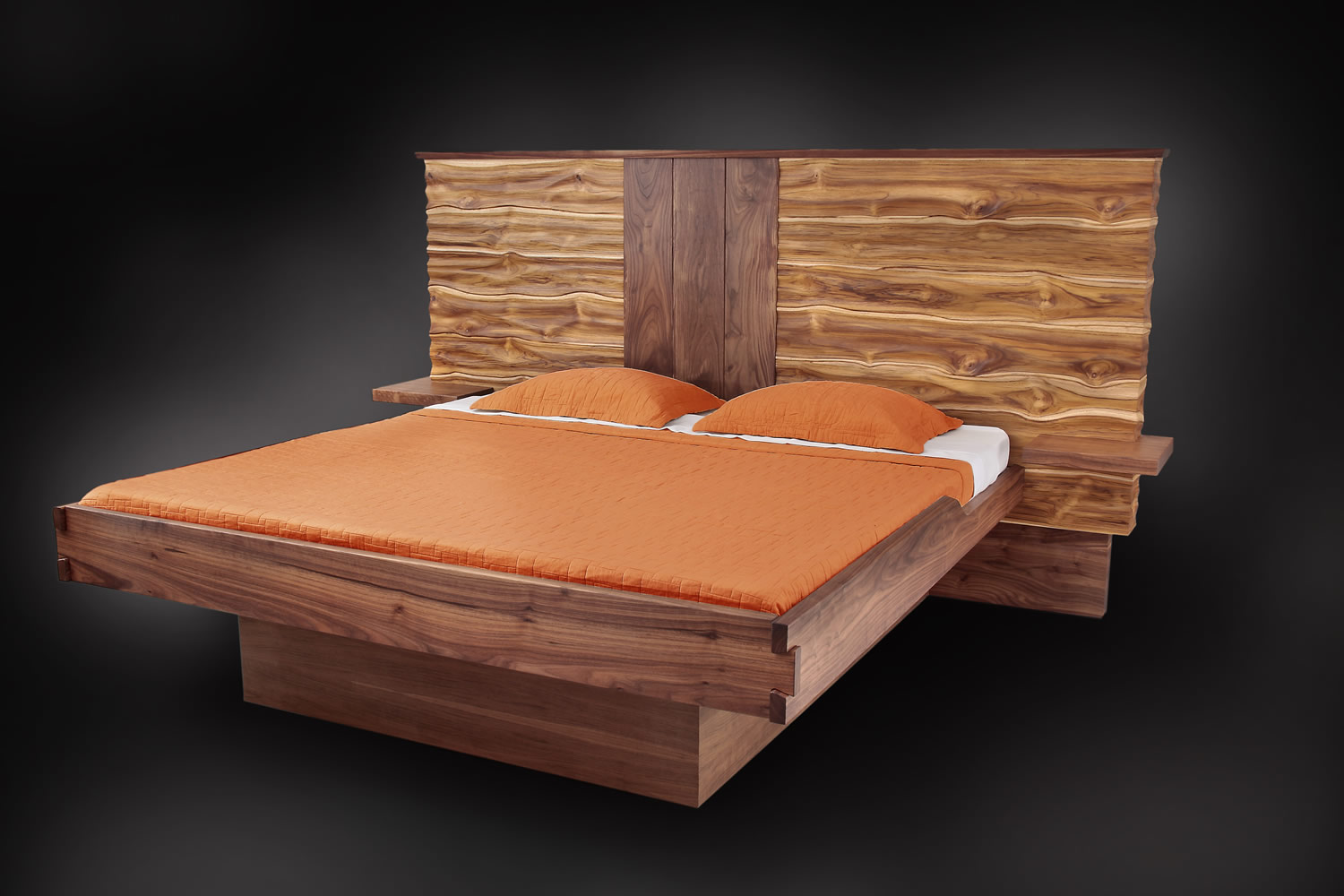 Organic Bed by Jory Brigham Design