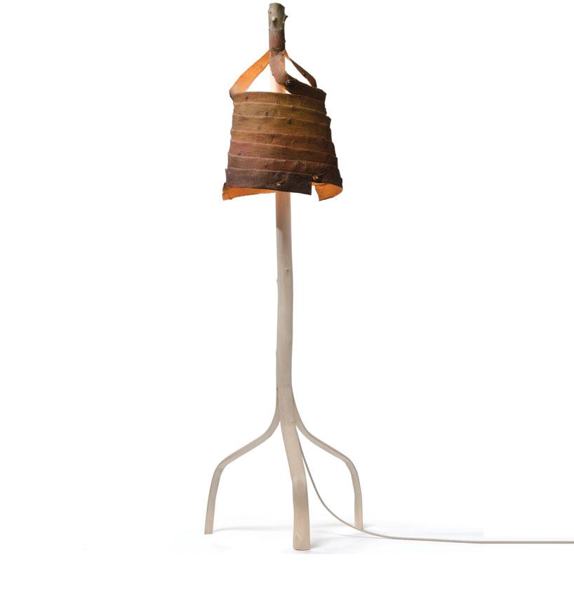 Stripped Standing Lamp by Floris Wubben
