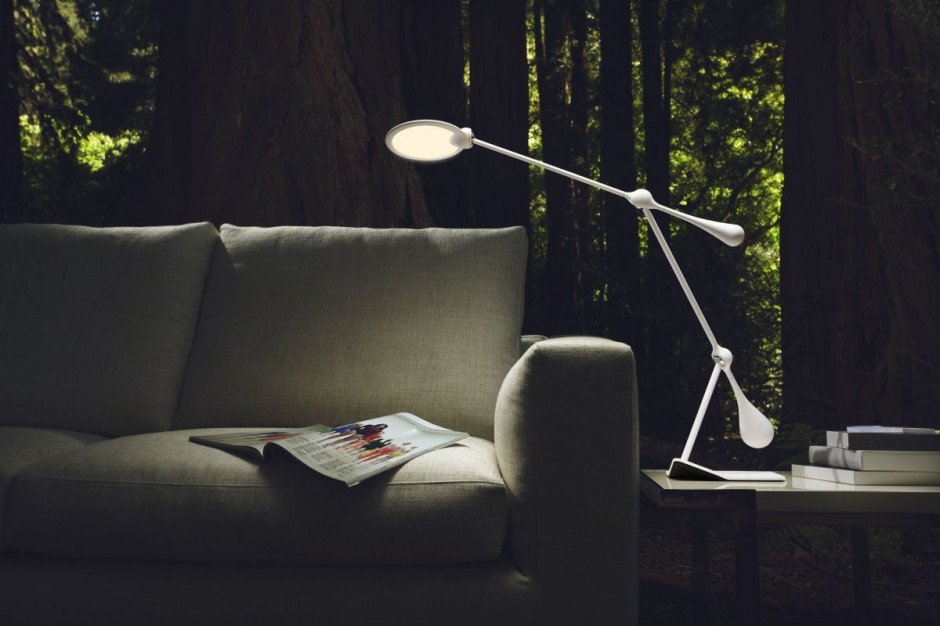 Trapeze LED Table Lamp by Peter Stathis for JOBY