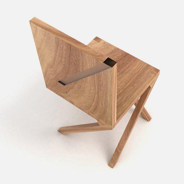 Walking Chair by Luis Ribeiro