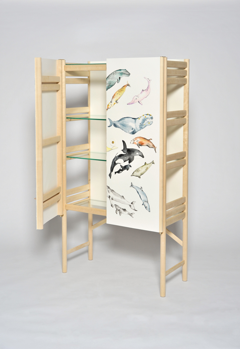 The Whale Cabinet by David Ericsson for Friends of Wood