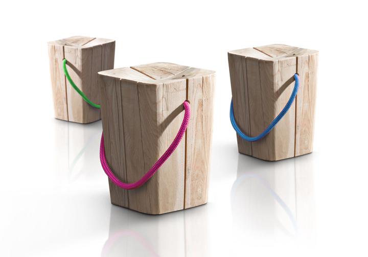 Hug Stool by Emo Design