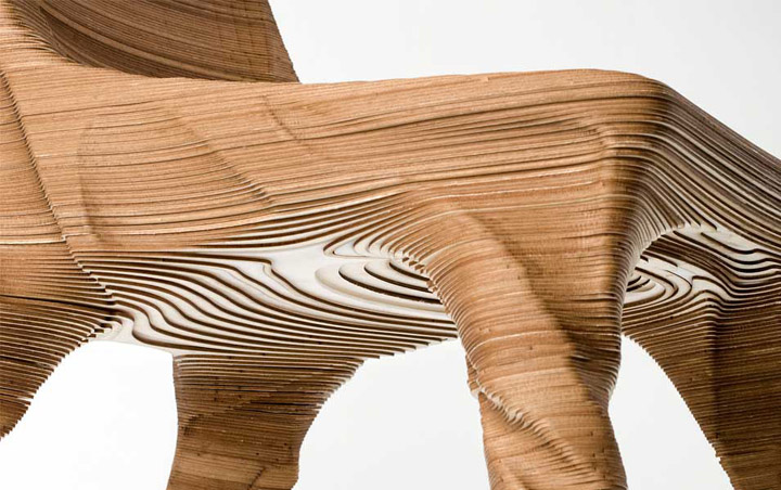 Erosio Chair by Hermann August Weizenegger