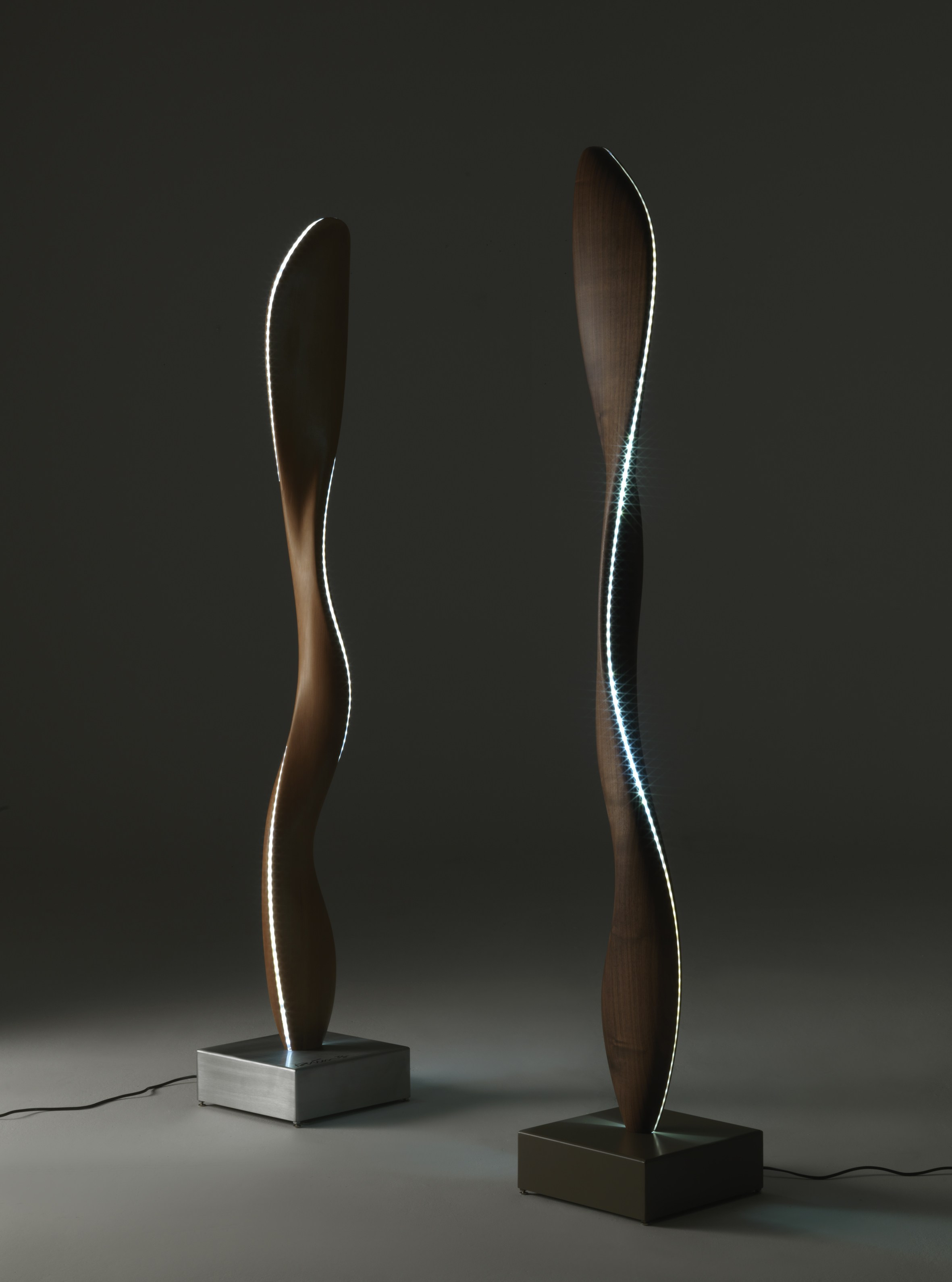Fiamma floor lamp by karim rashid for riva 1920 sohomod blog for 1920 floor lamp