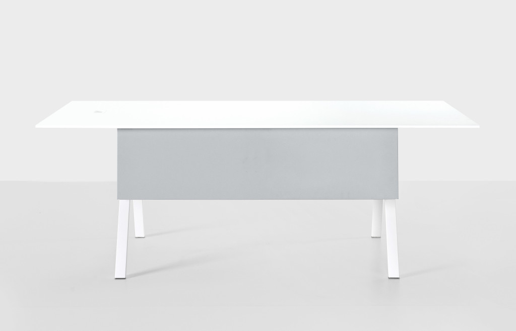 Neat Office Table by Kristalia