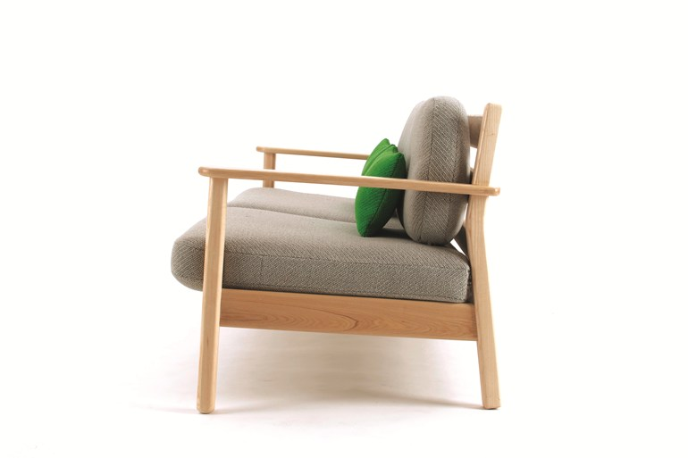 Oscar Sofa by Oliver Hrubiak for And Then Design