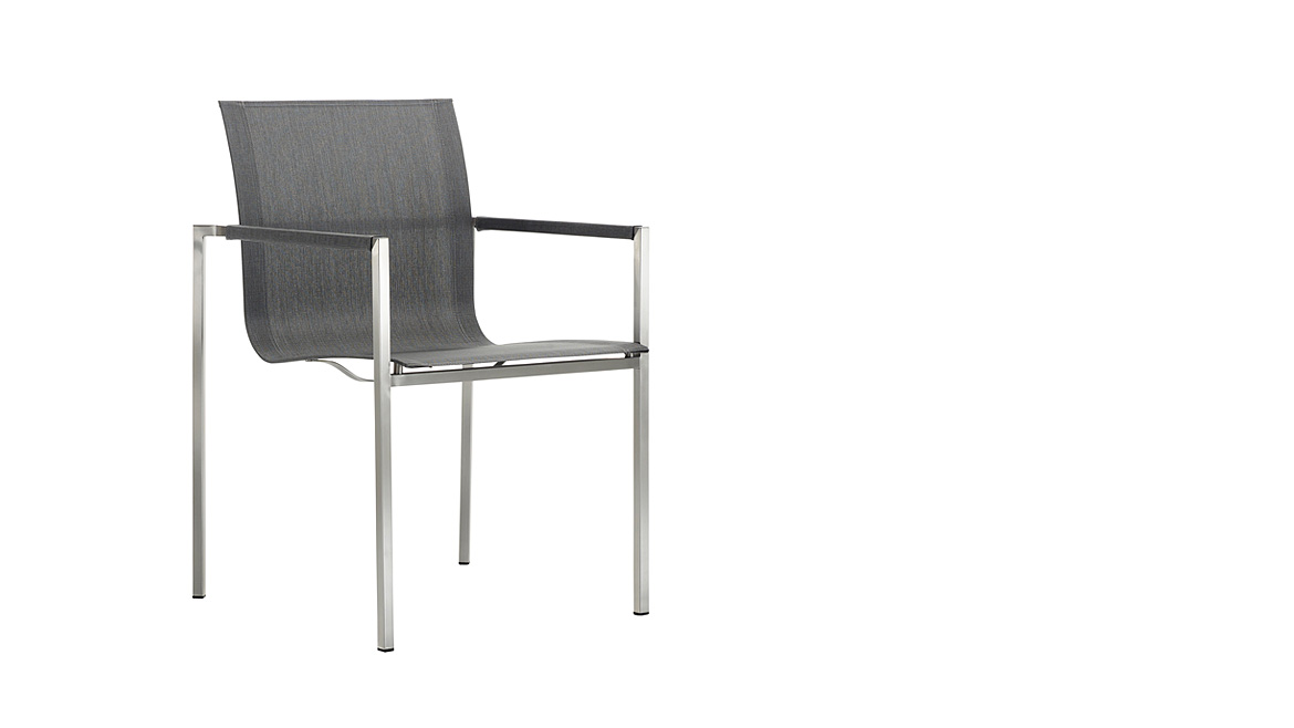 Pure Stainless Steel Chair by Solpuri