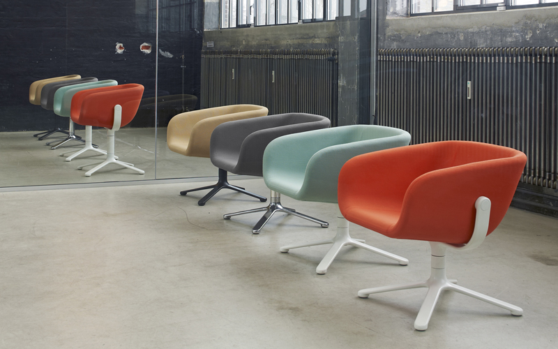 Scoop Chair by KiBiSi for +HALLE