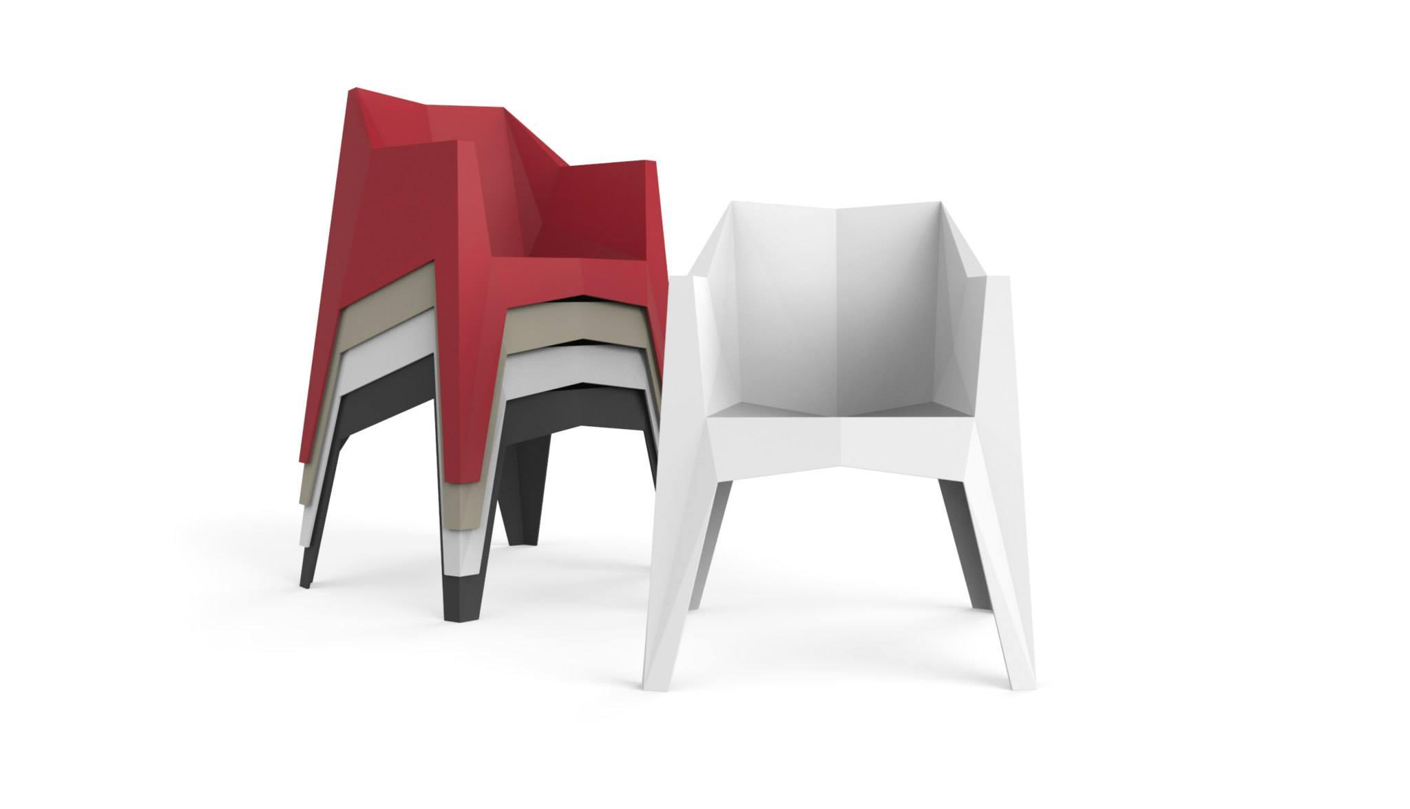 Voxel Chair by Karim Rashid for Vondom