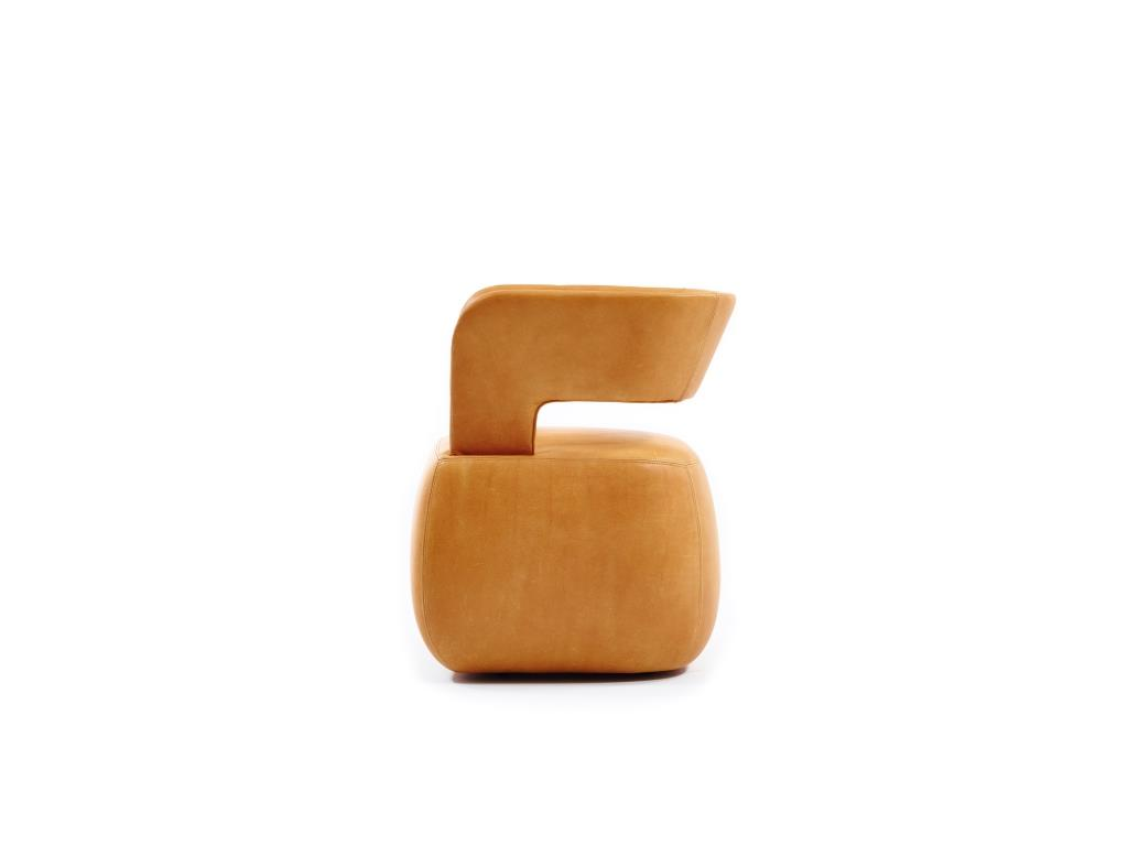 BeBop Lounge Chair by Durlet