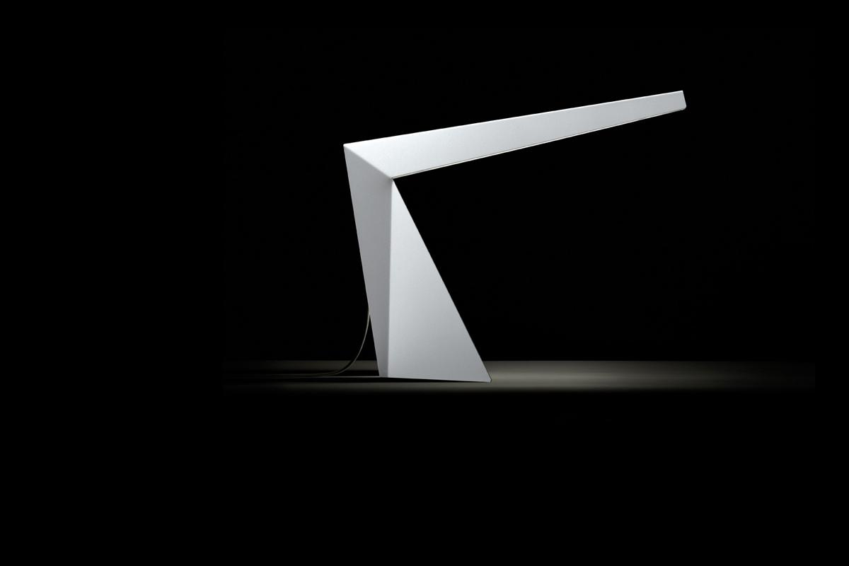 Crane Table Lamp by Alain Monnens for tossB
