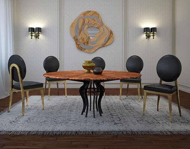 Fé Dining Table by Malabar