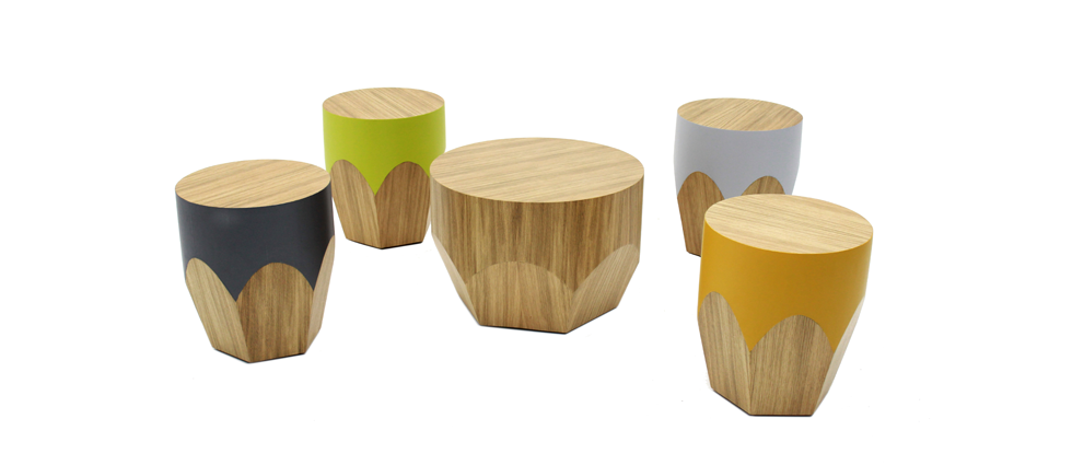The Pencil Stool by Paulo Antunes