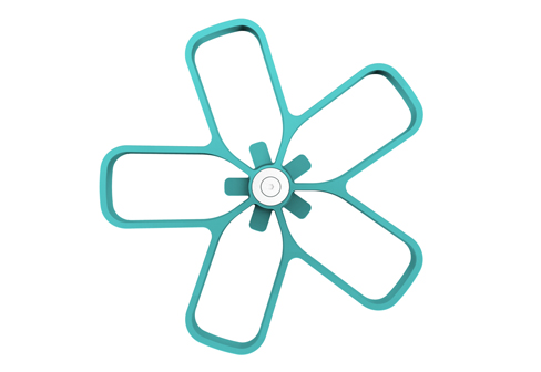 Flower Coat Stand by Cascando