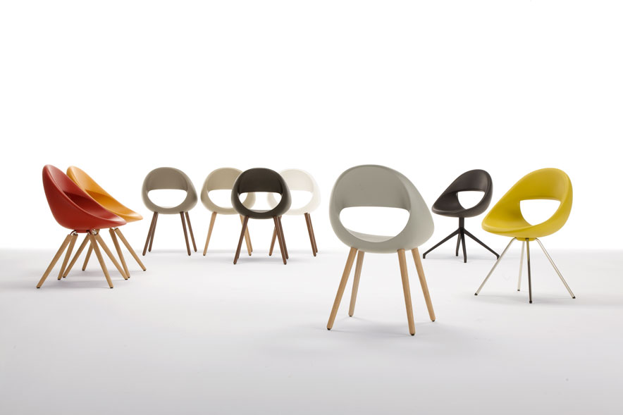 Lucky Chair by Martin Ballendat for Tonon
