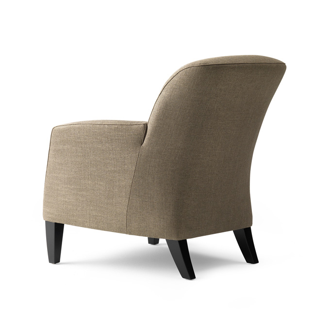 Supper Club Chair by Bench