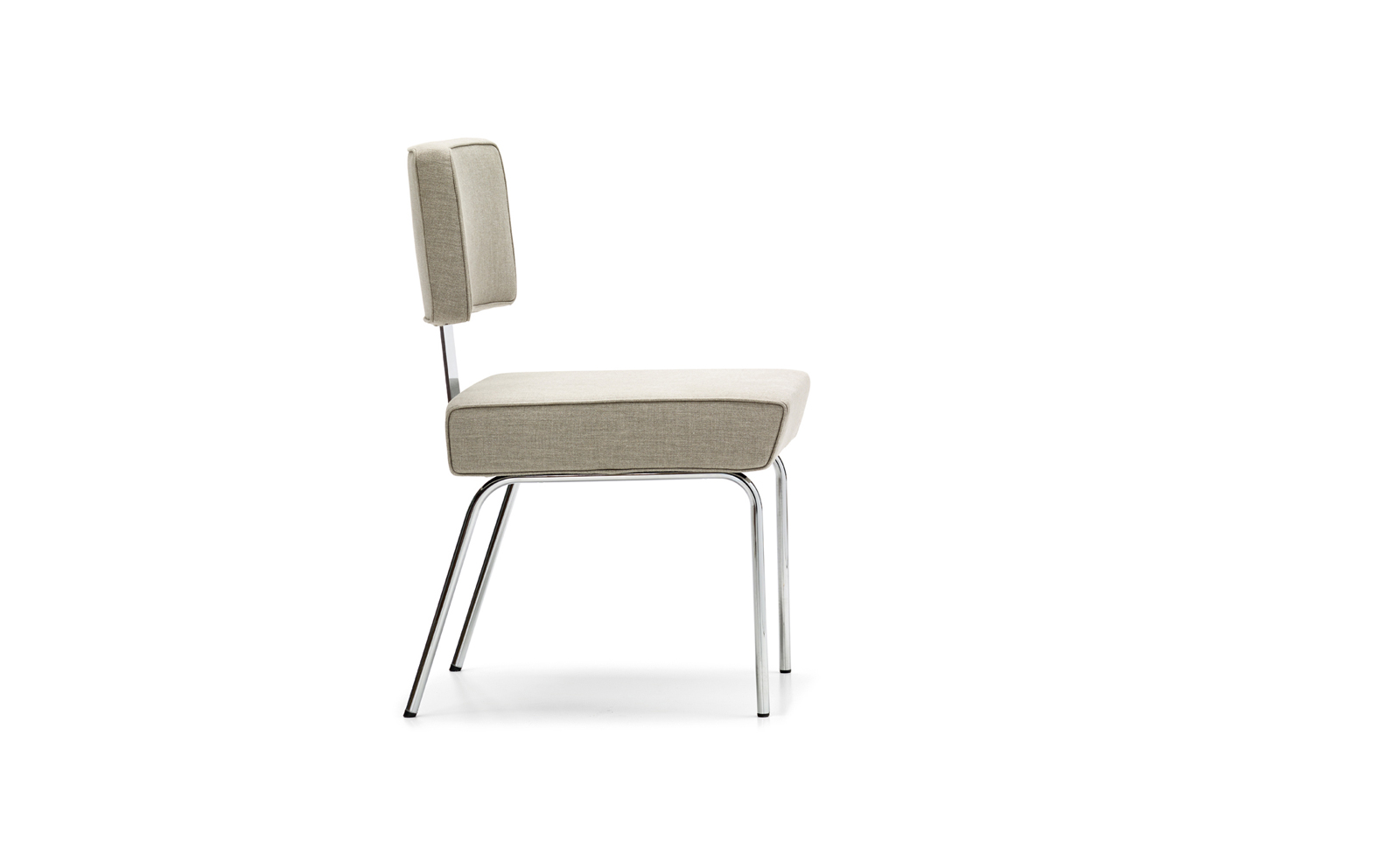 Tremaine Side Chair Steel by Richard J. Neutra for VS
