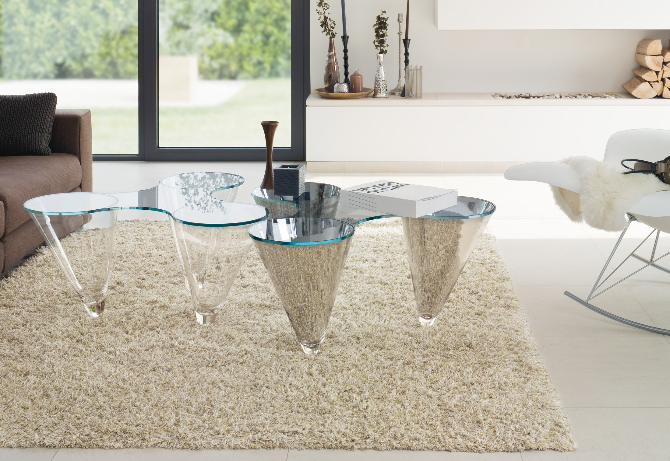 Twist Coffee Table by Draenert