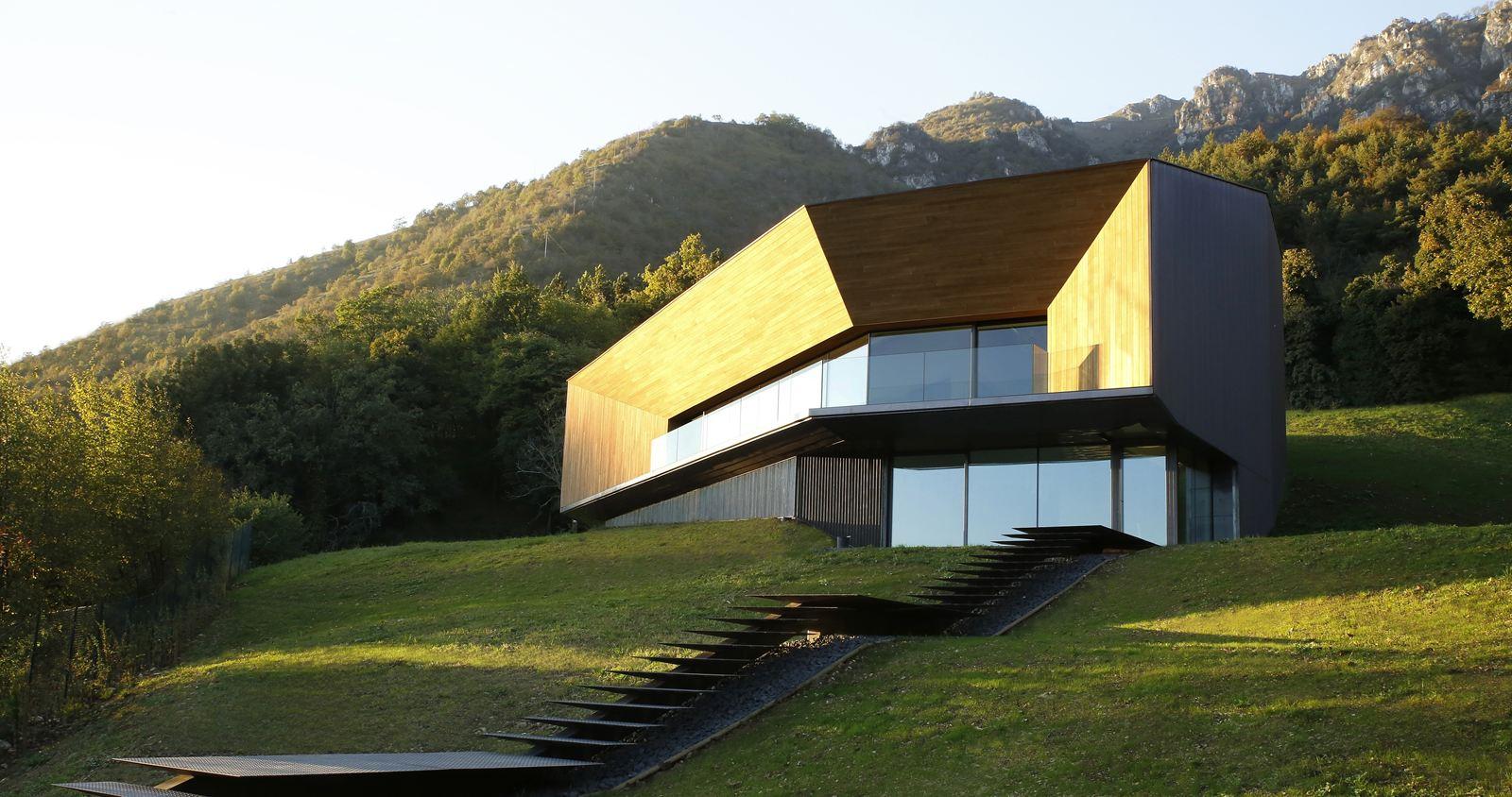 Alps Villa In Brescia By Cba Camillo Botticini Architect