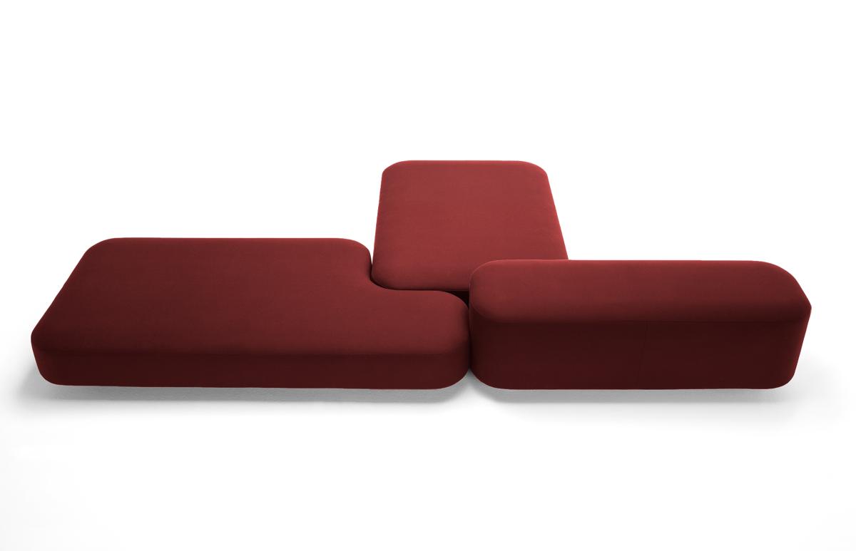 Common Modular Sofa By Naoto Fukasawa For Viccarbe