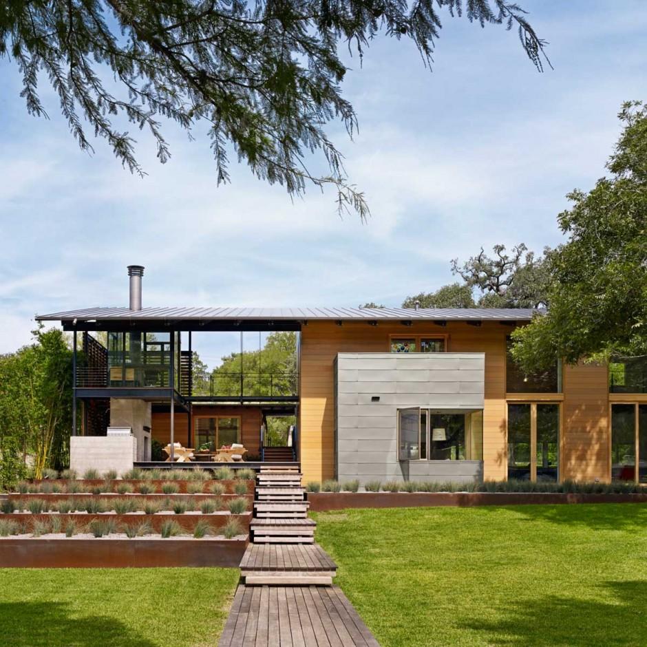 The Hog Pen Creek Residence by Lake|Flato