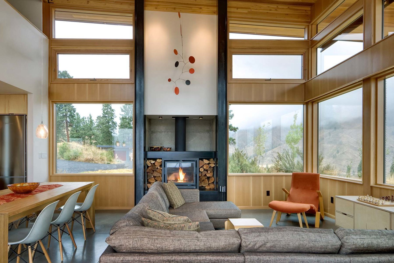 Nahahum Canyon House by Balance Associates