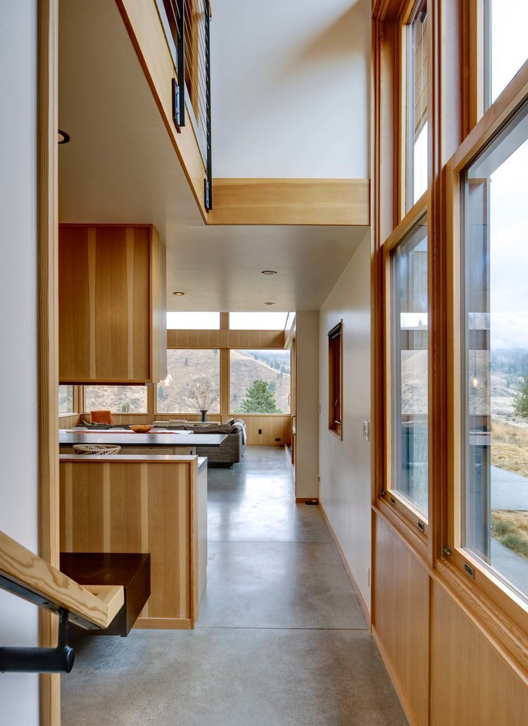 Nahahum Canyon House by Balance Associates