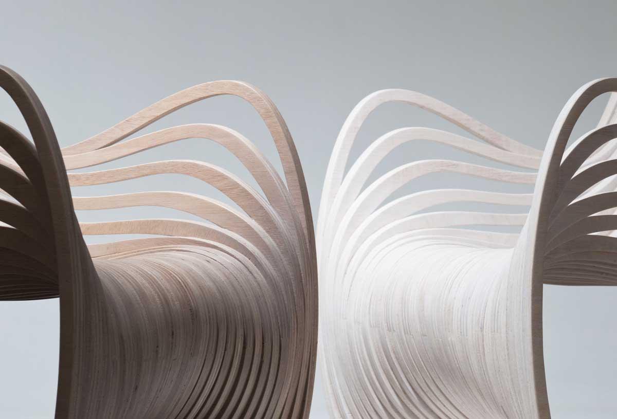 Pipo Chair by Alejandro Estrada for Piegatto
