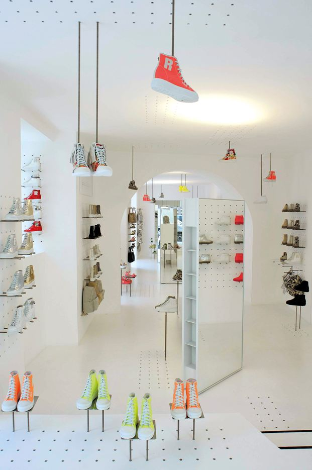Ruco Line Flagship Store in Rome by Ateliers Jean Nouvel